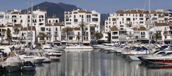 Puerto Banus harbour.
