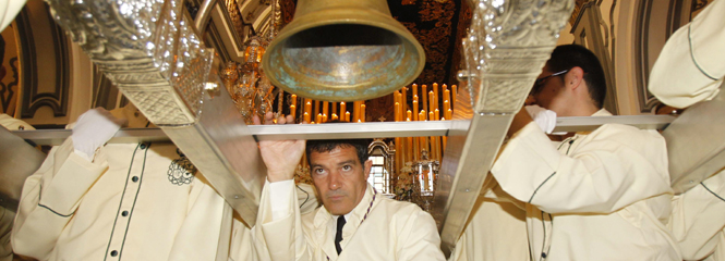 Antonio Bandaras, son of Malaga